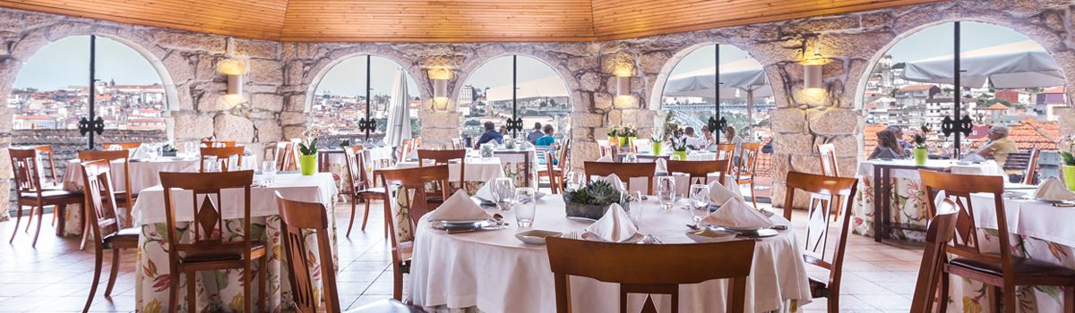 restaurante romantico porto