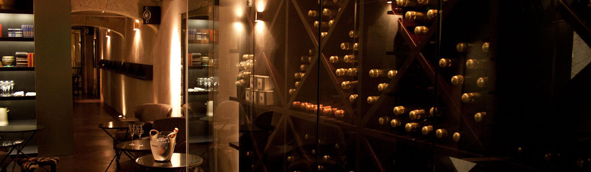 - The Champagne Bar in the centre of town
