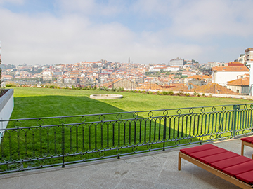 Views of Porto and garden, The Yeatman