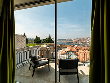 The Yeatman Terrace views - Porto