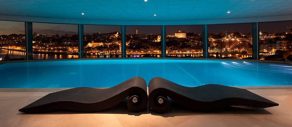 The Yeatman Spa hotel in Porto