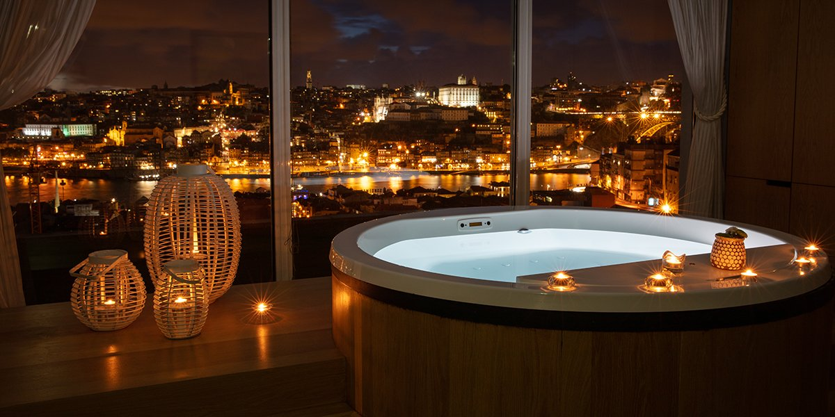 Bain Barrique au The Yeatman - Luxury Hotel & Spa a Porto