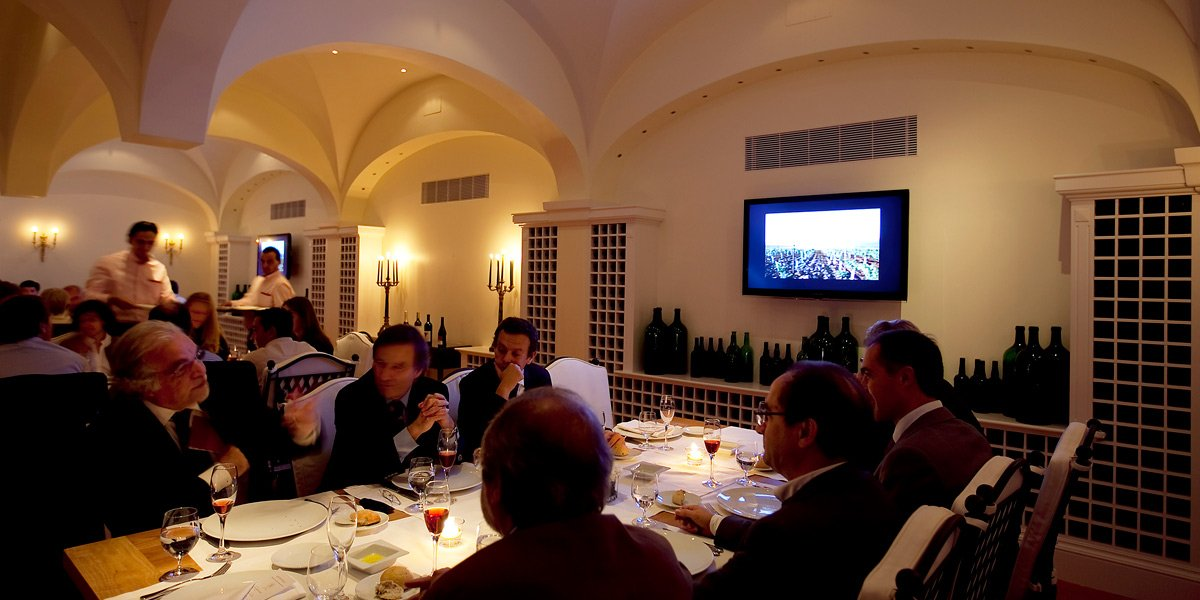 Wine Dinners in Porto at The Yeatman