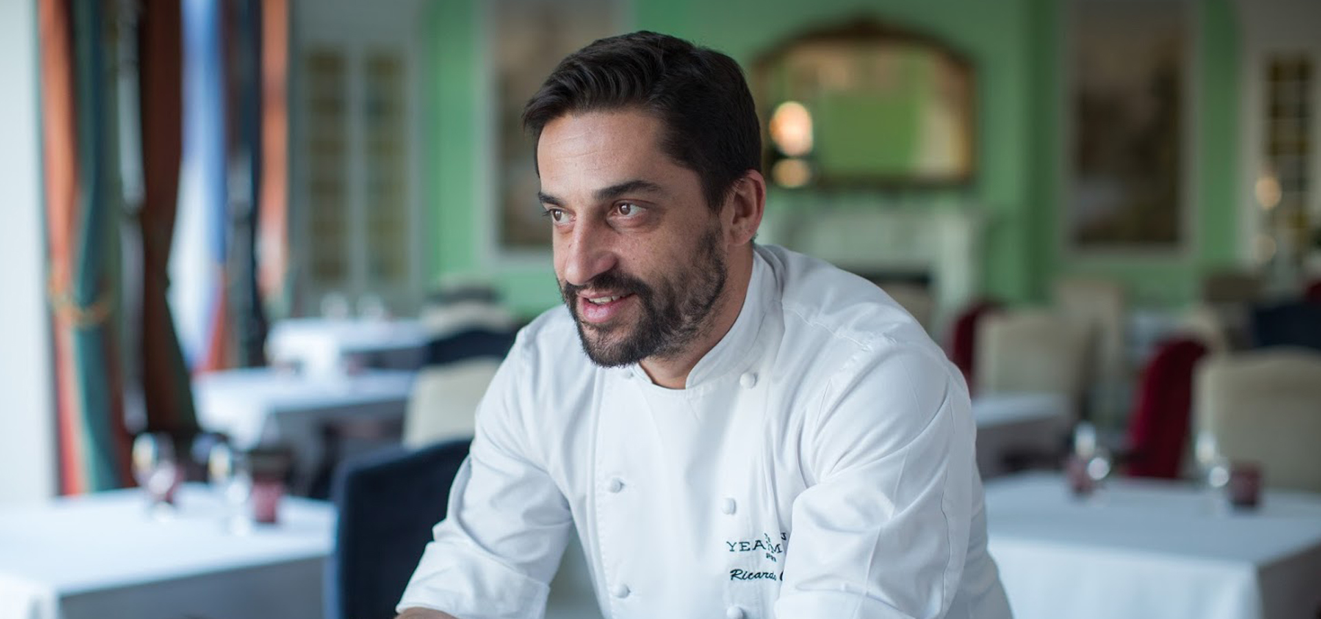 Chef Ricardo Costa at The Yeatman, Porto