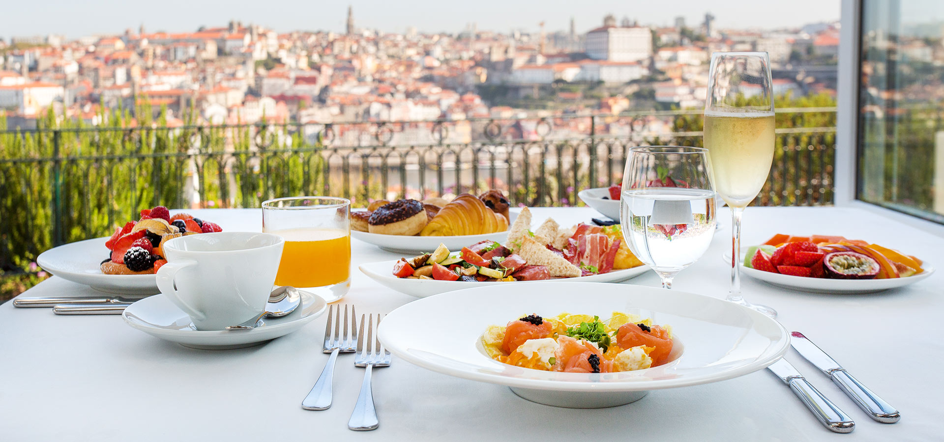 BREAKFAST OVERLOOKING PORTO