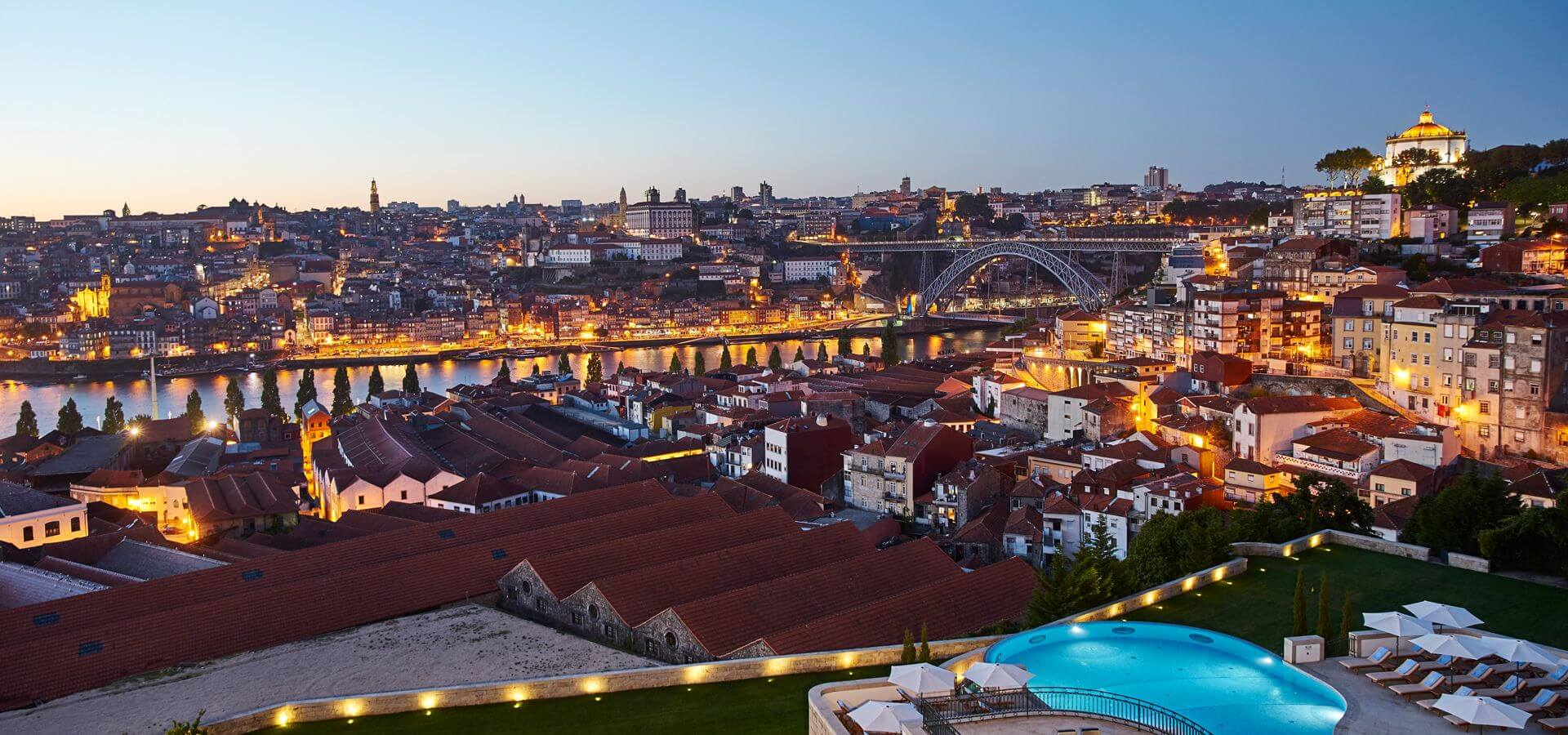 Vue Porto, The Yeatman