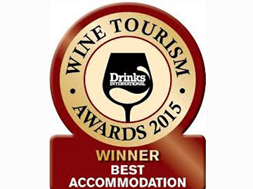 "The Yeatman wins ""Best Accommodation 2015"" from Drinks International"