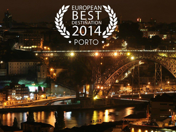 Porto wins Best European Destination 2014