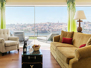 The Artist Suite, The Yeatman, Porto