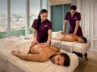 Massage at The Yeatman Spa, Porto